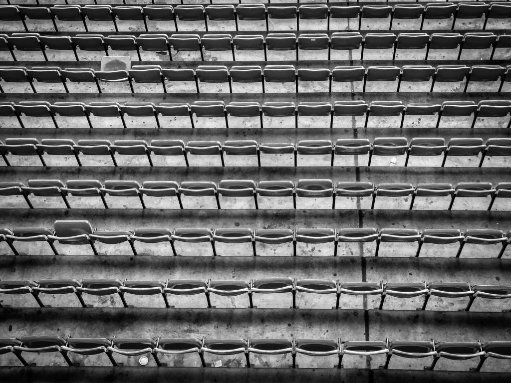 Rows of seats, Boleyn Ground