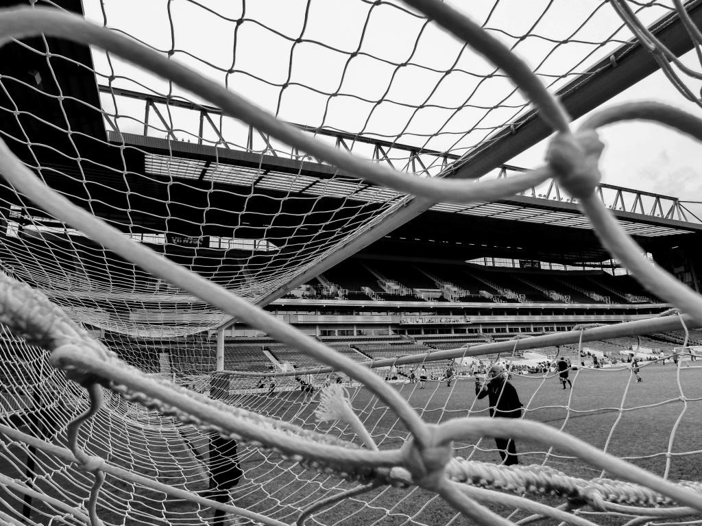 View from the net, Boleyn Ground