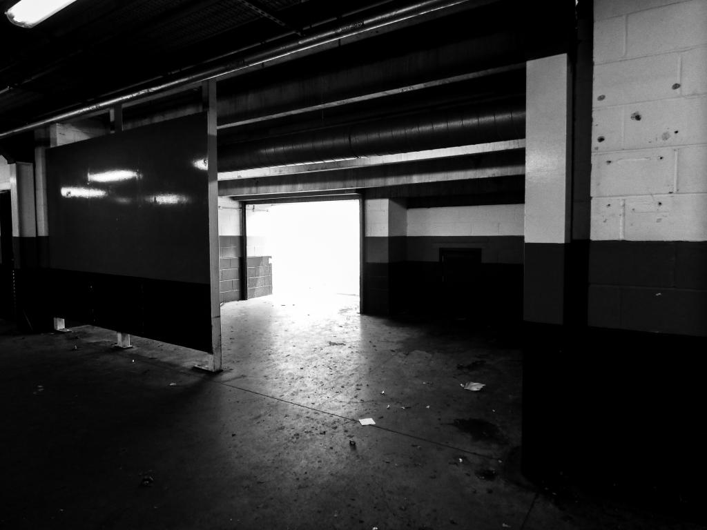 Walkway into the stands, Boleyn Ground